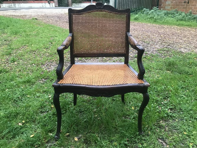 Regency Louis XV period office chair