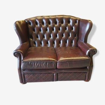 canap lounge 70 39 s et modulable r serv tissu orange vintage 90142. Black Bedroom Furniture Sets. Home Design Ideas