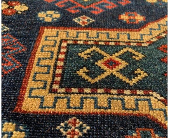 Ancient Caucasian carpet 140x100cm