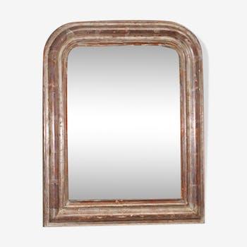 Miroir  du XIXe siècle 54x46cm