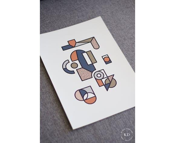 Affiche A3 - #004 - Série numérotée