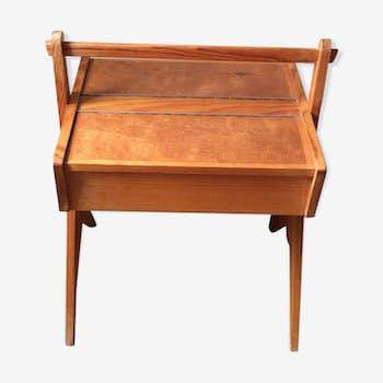 Vintage sewing basket 70