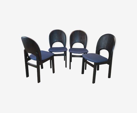 Set of 4 chairs Glostrup Mobelfabrik, Denmark, 1970