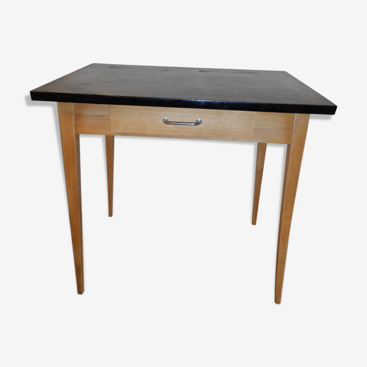 Table à écrire avec tiroir