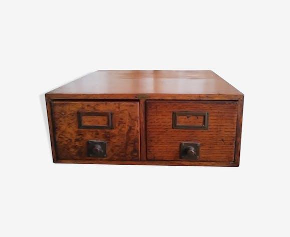 Storage unit 2 drawers old