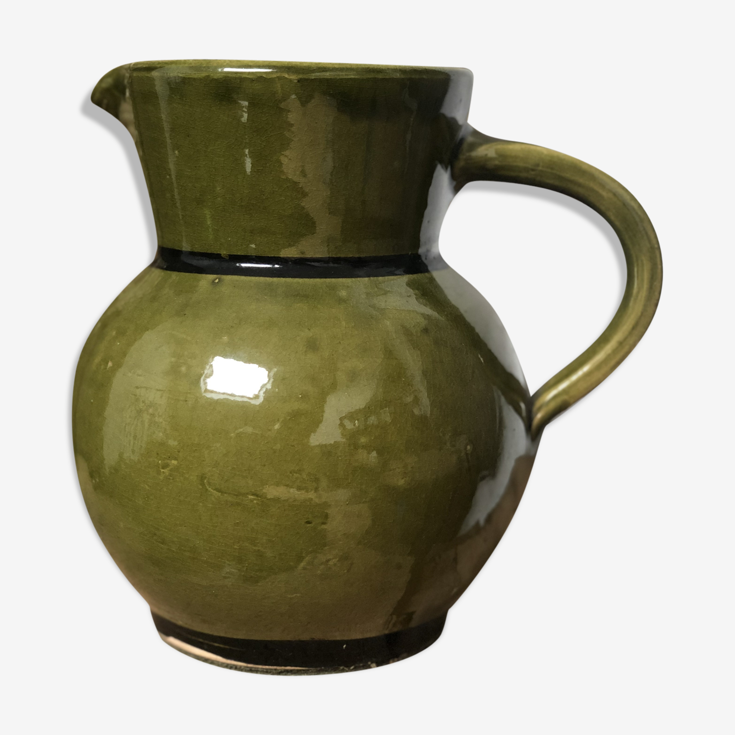Gregory Green stoneware pitcher