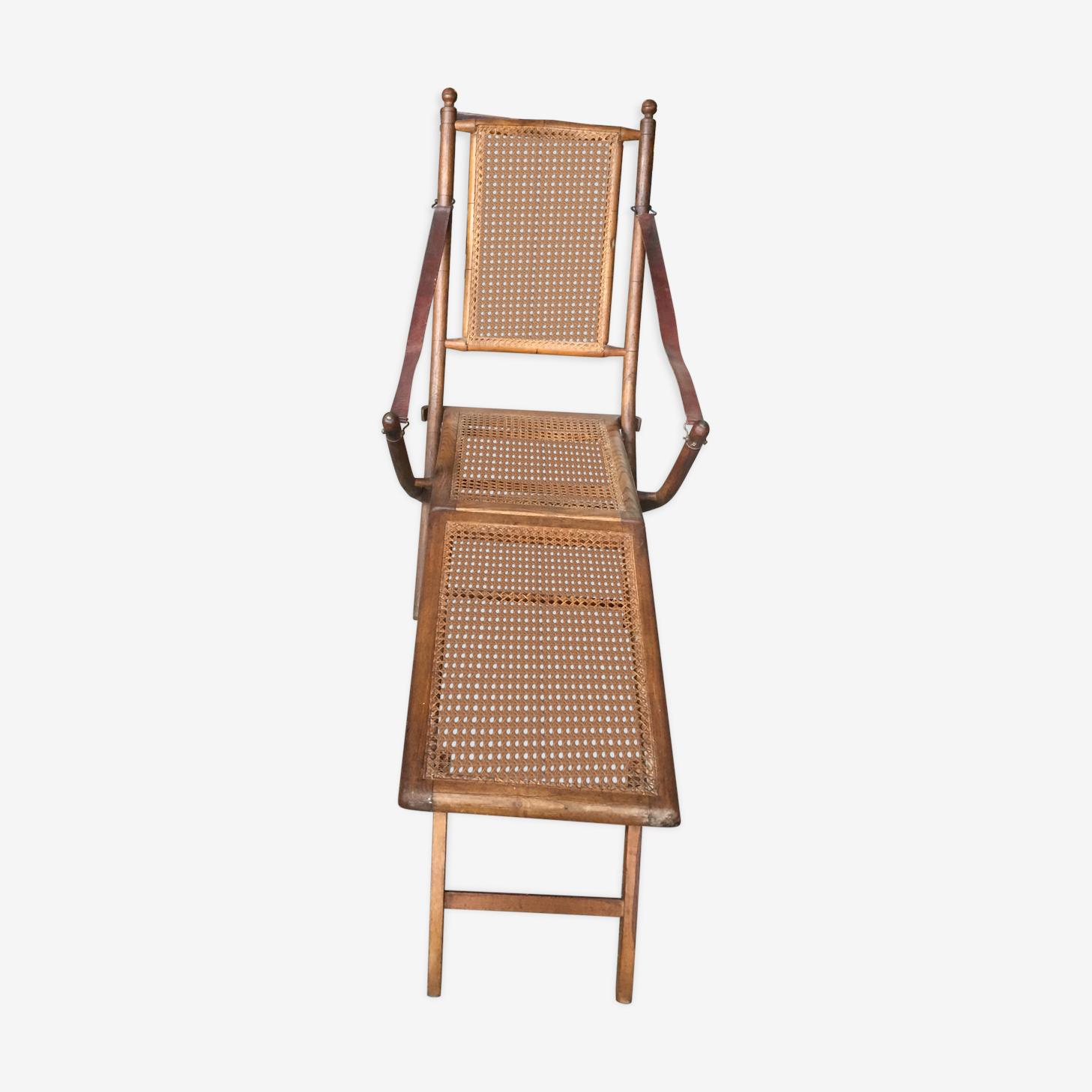 Chaise longue de pont