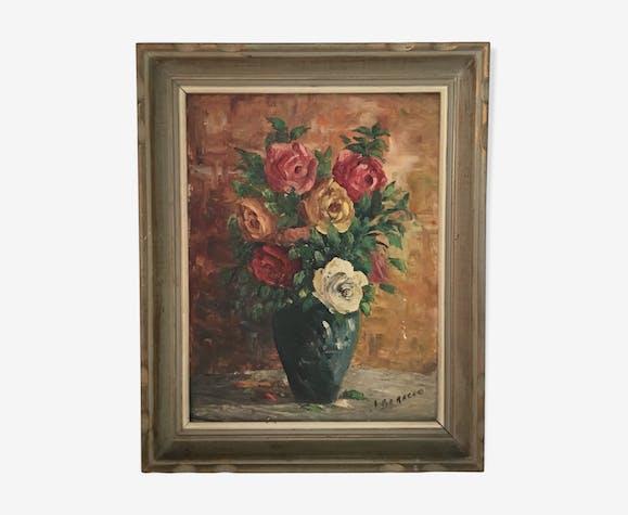Bouquet de fleurs années 50