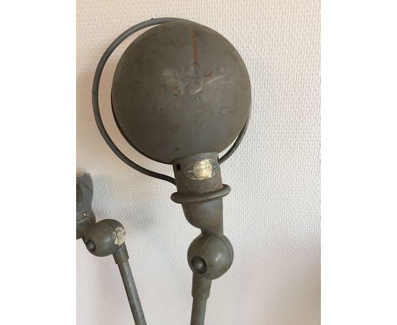 Lampe articulée Jielde 2 bras, 1950