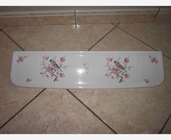 Tablette de salle de bain en porcelaine faience limoges ...