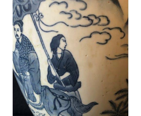 Vase en porcelaine Wanli XIX° China