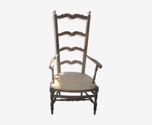 Provencal armchair old folk art