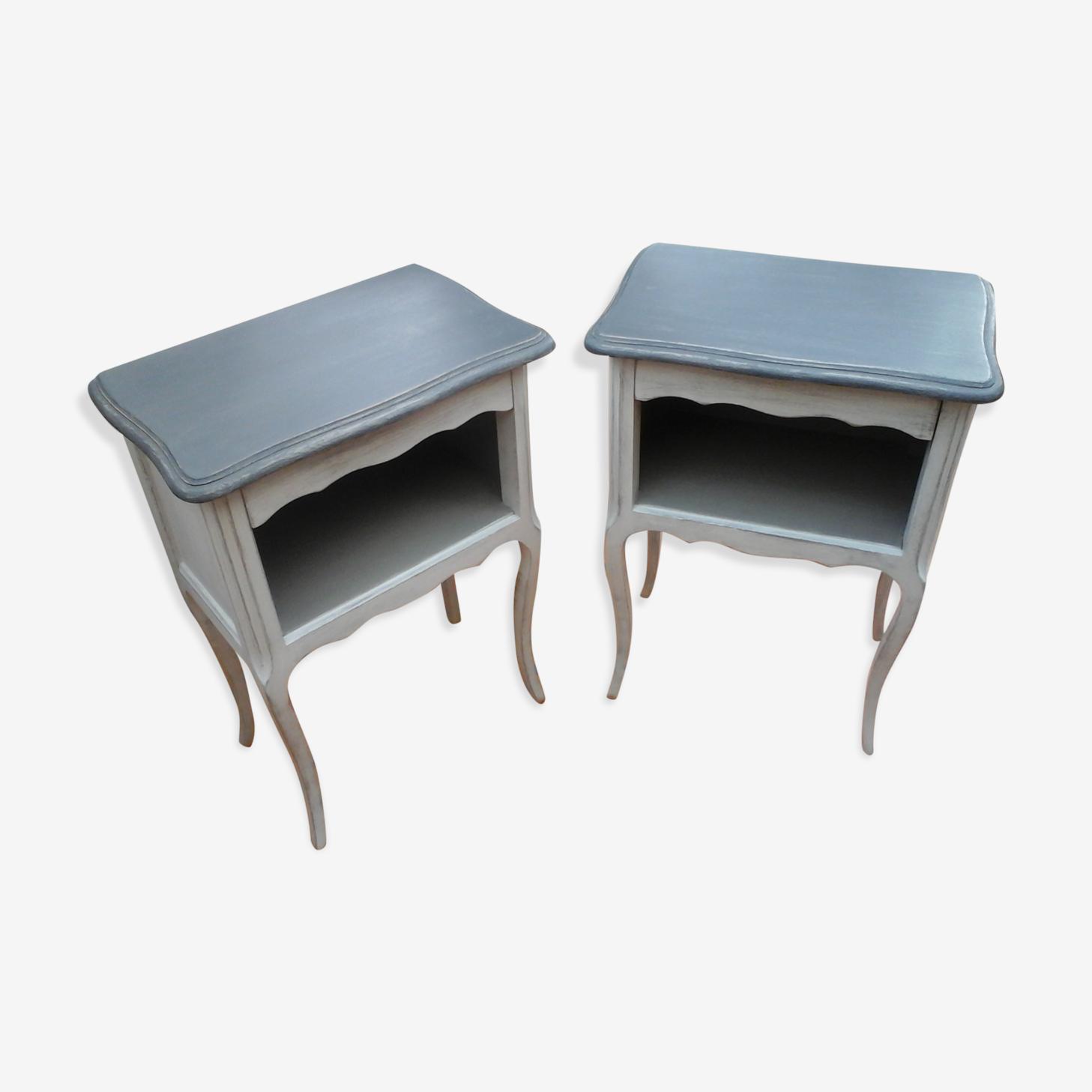 Paire de tables de  chevets