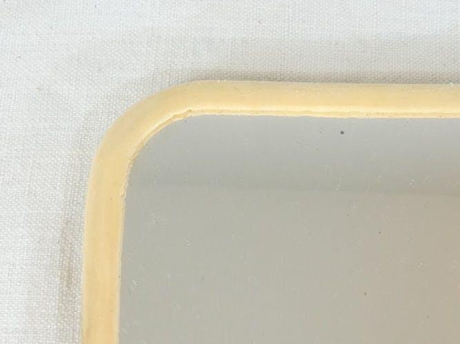 Miroir de barbier vintage 28, 5 X 38, 5 cm