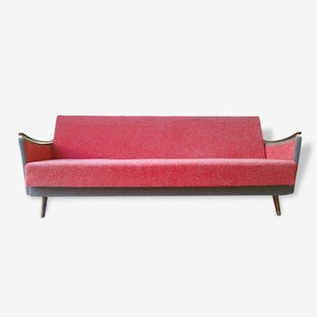 Daybed sofa convertible years 50-60 vintage original perfect state