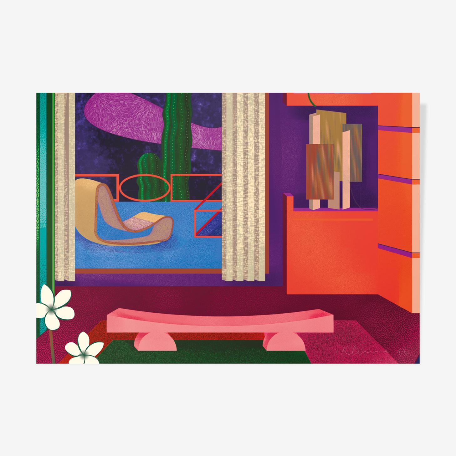 Pamela's bathroom I — A3