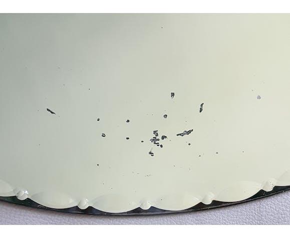 Miroir rond années 50 - 60cm