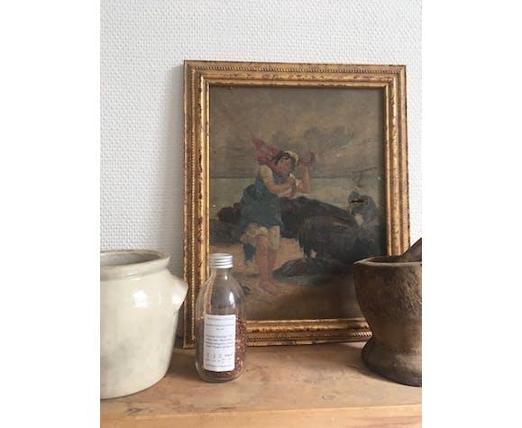 Painting oil XIX ieme