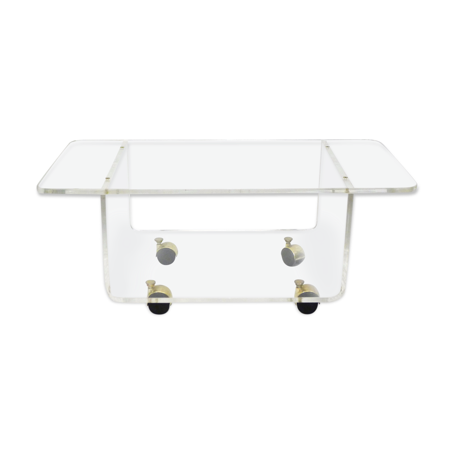 Fimel Table Basse Dexposition En Plexiglas Transparent L X P X H 280 X 100 X 210 Mm Tables Ameublement Et Decoration