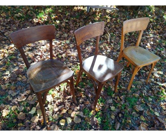 Suite de chaises bistrot Baumann