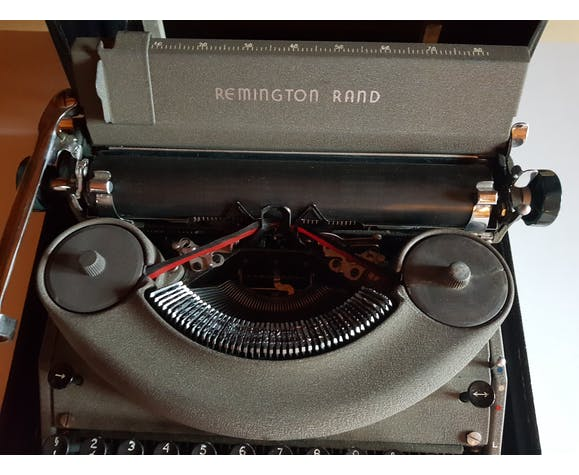Machine à écrire Remington Rand Noiseless  1952