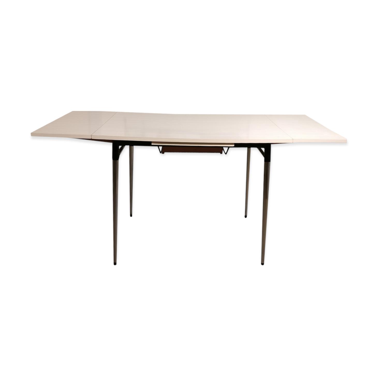 """Table en formica blanc """"Make My Lemonade"""""""