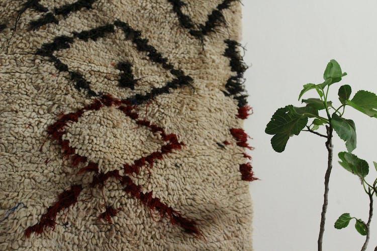 Carpet of Aït Boy Chaouen 160 x 60 cm