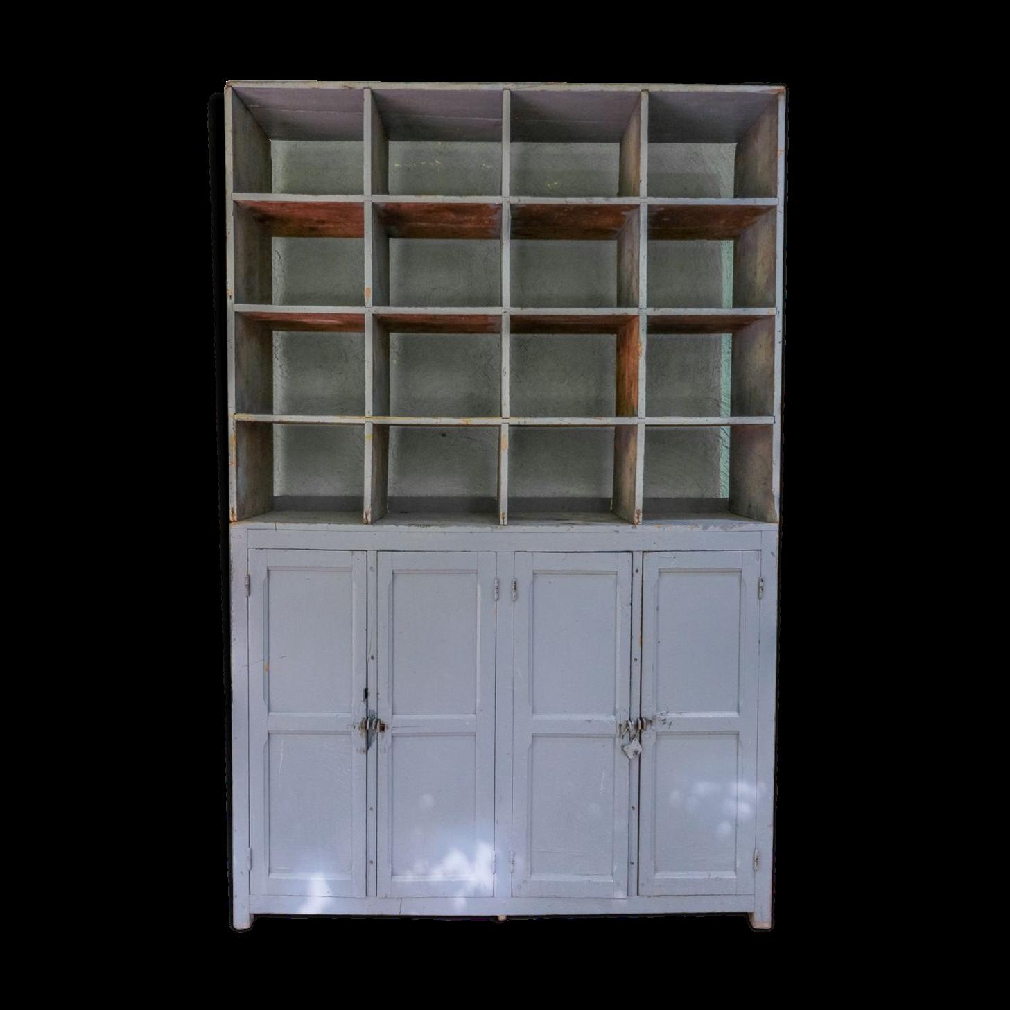 Renover casier industriel finest un haut de buffet - Renover un meuble industriel ...
