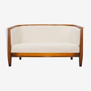canap banquette 2 places style art d co d 39 occasion. Black Bedroom Furniture Sets. Home Design Ideas