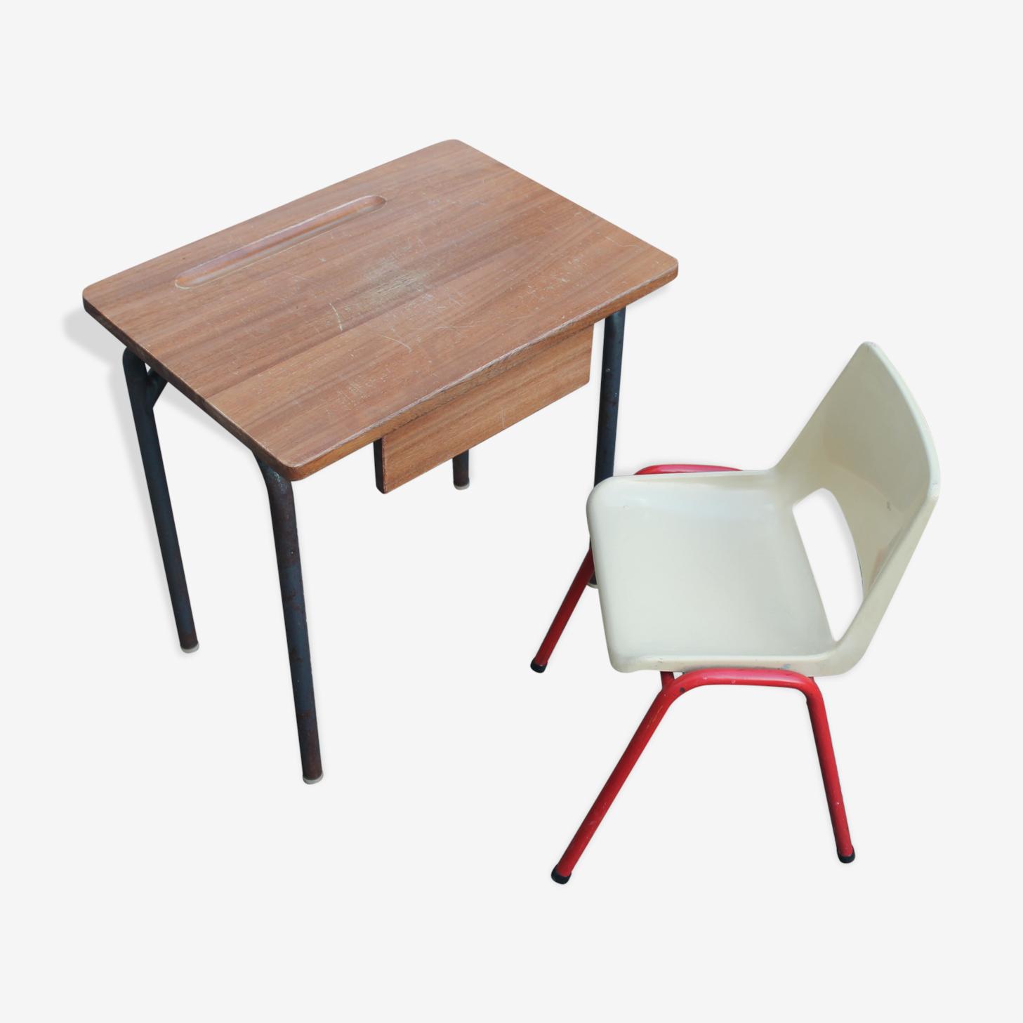 Lot bureau et chaise