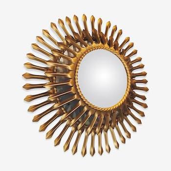 Miroir Chaty Vallauris années 60