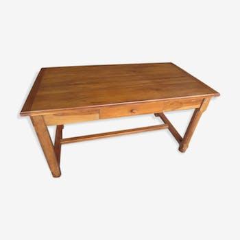 Oak farm table