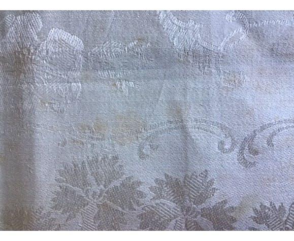5 serviettes en damassé de coton ivoir