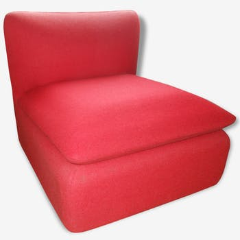 Chair Chair 70 tito agnoli Red