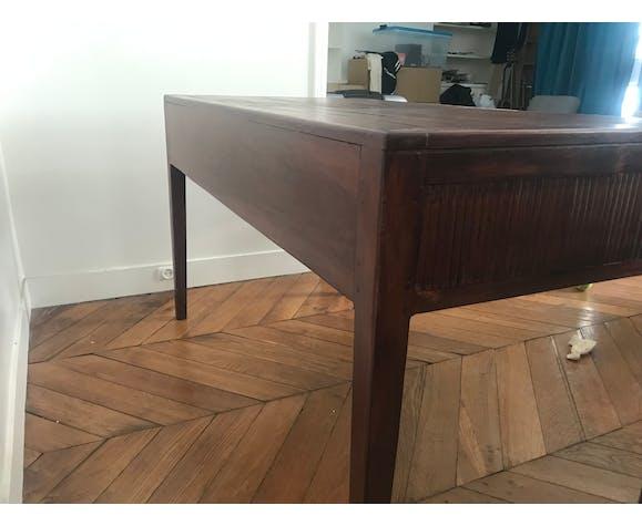 Vintage desk in solid wood