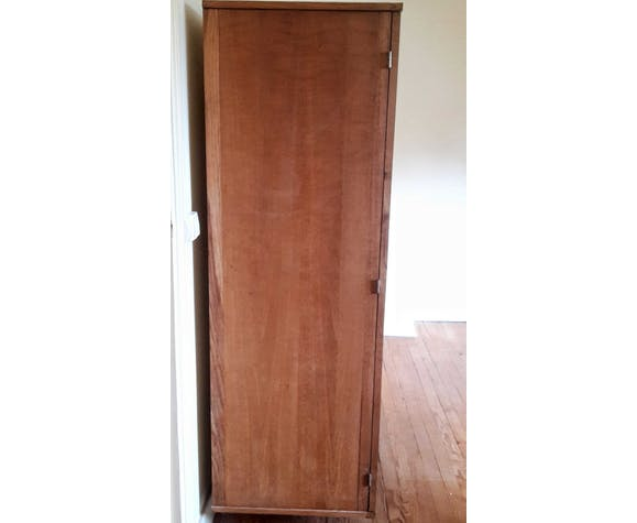 Armoire dressing vintage en bois