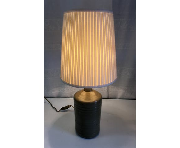 Ceramic table lamp - Fontgombault Abbey - 1960s