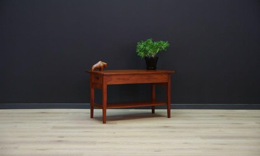 Table basse danoise 60/70