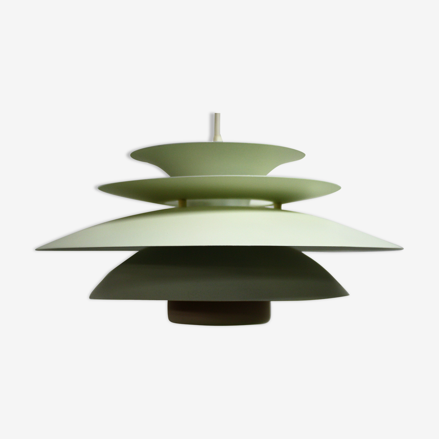 Mid century design scandinavian pendant light, 1970s