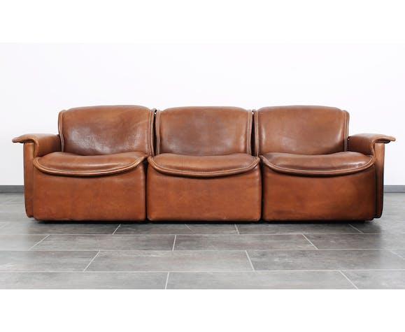 Sofa Andes de Gerard van den Berg pour Montis en cuir