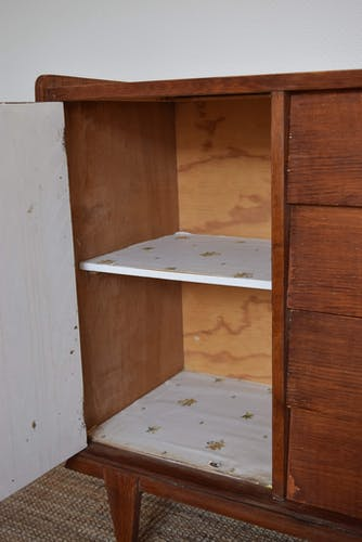 Commode vintage 4 tiroirs