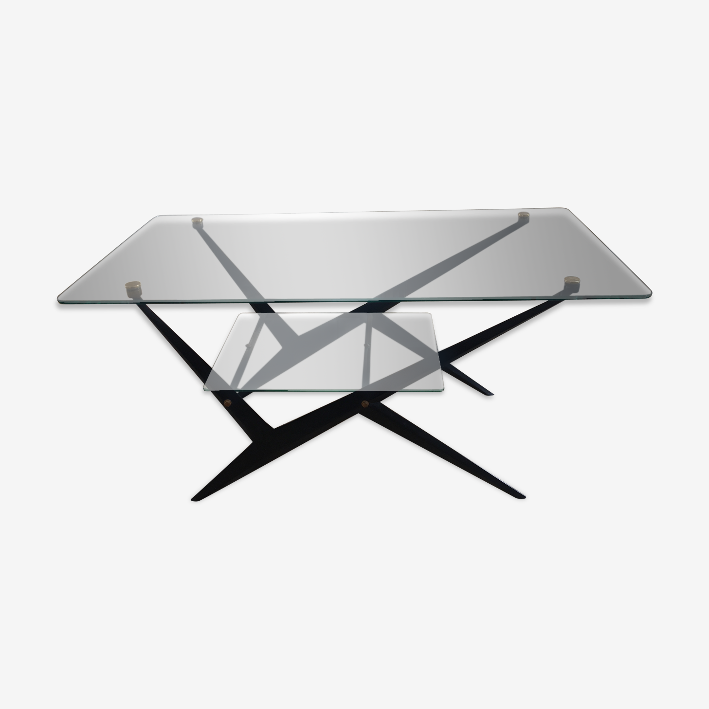Coffee table Angelo Ostuni years 1960