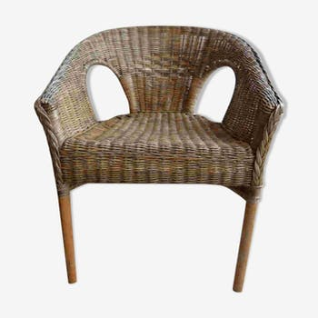Art deco Wicker Chair