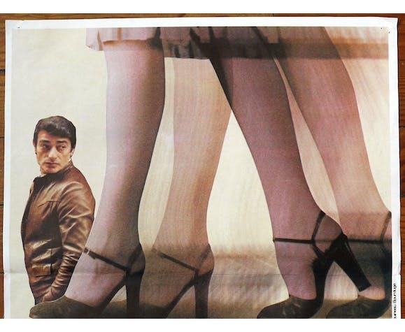 """Affiche cinéma originale """"L'homme qui aimait les femmes"""" François Truffaut"""