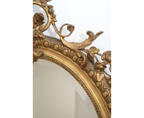 Miroir mural 19ème siècle