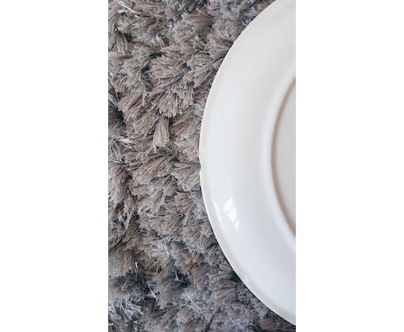 """Lot de 5 assiettes creuses Villeroy et Boch modèle """"Bali"""" Terre de fer"""