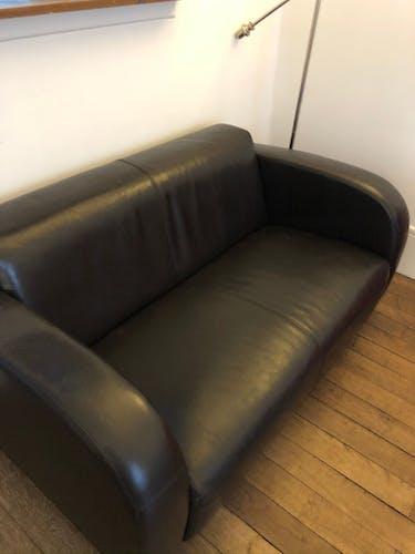 Canapé cuir 2 places Boston