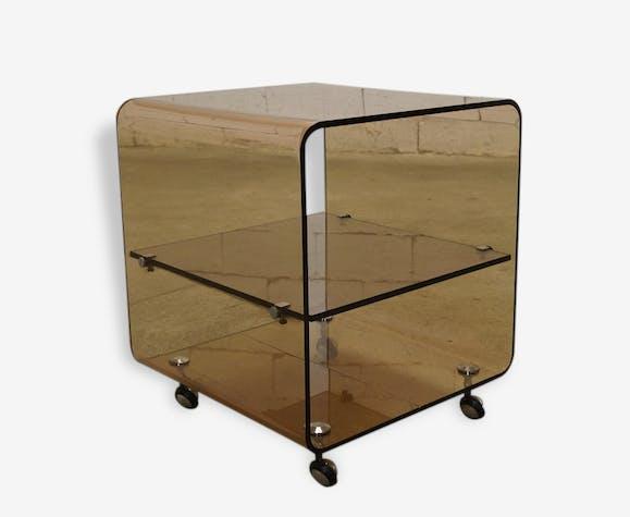 Bout de canapé Michel Dumas - Années 70 - plastic - brown - design ...