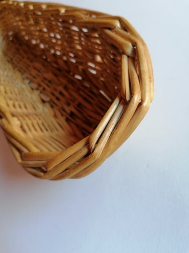 Corbeille à pain osier tressé ou banneton