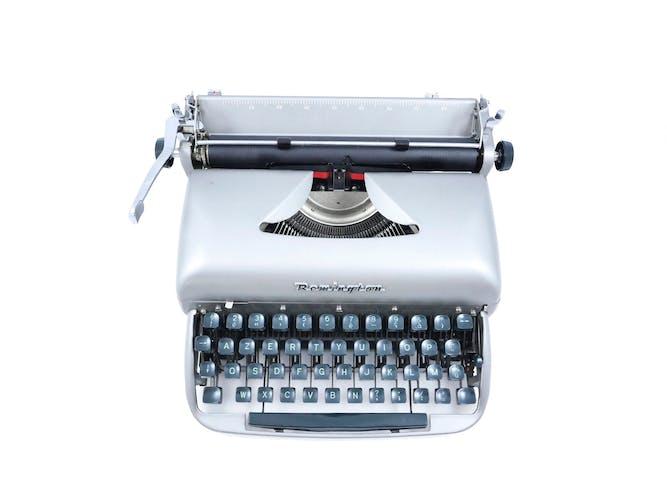 Machine à écrire Remington Riter vintage révisée